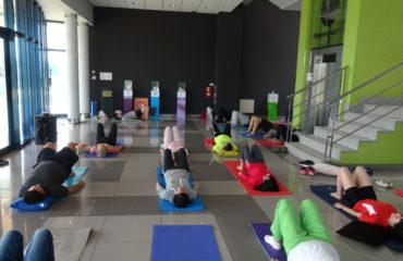 Yoga empresa infusiones Pharmadus