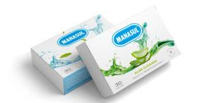 Imagen de los dos productos en comprimidos; Aloe Cleanse y Flora Balance