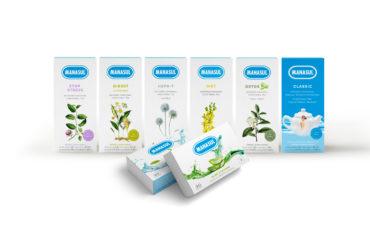 Nueva gama de productos manasul. Cinco infusiones y dos productos en comprimidos
