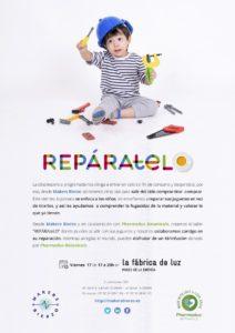 cartel de reparatélo especial para niños