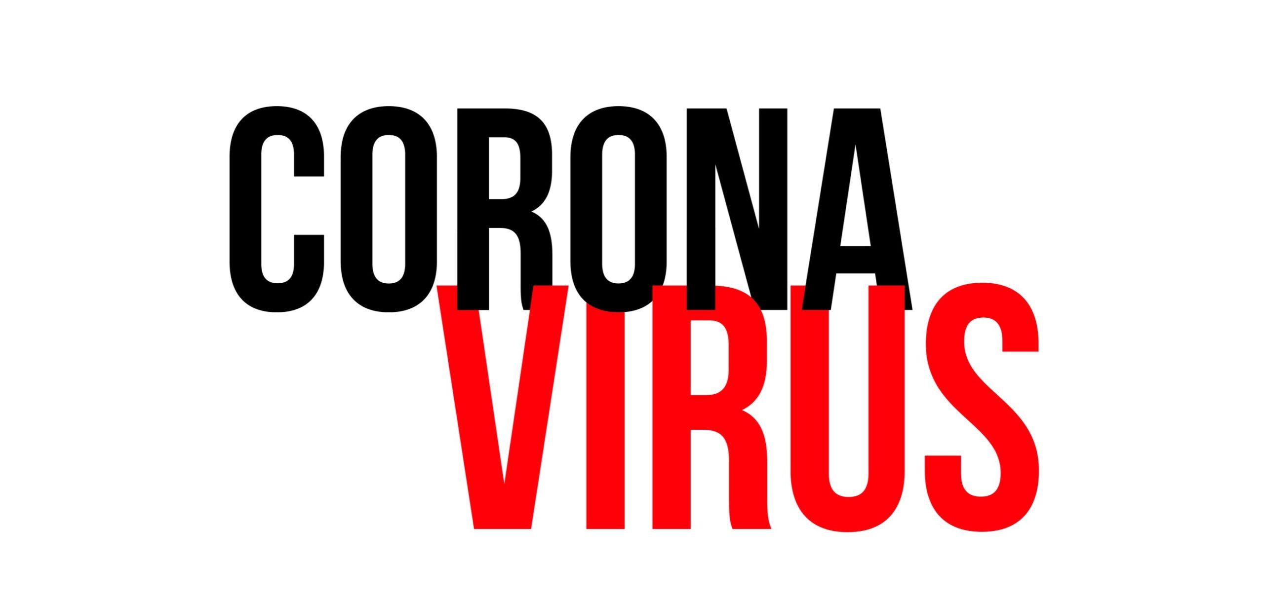 cartel informativo sobre el coronavirus en pharmadus botanicals
