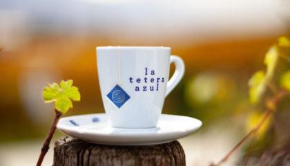 Taza La tetera Azul